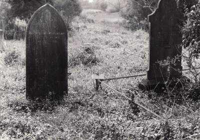 Historic picture of Makaraka cemetery, block MKOLD, plot 29.