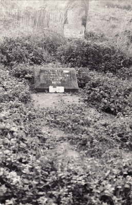 Historic picture of Makaraka cemetery, block MKOLD, plot 72.